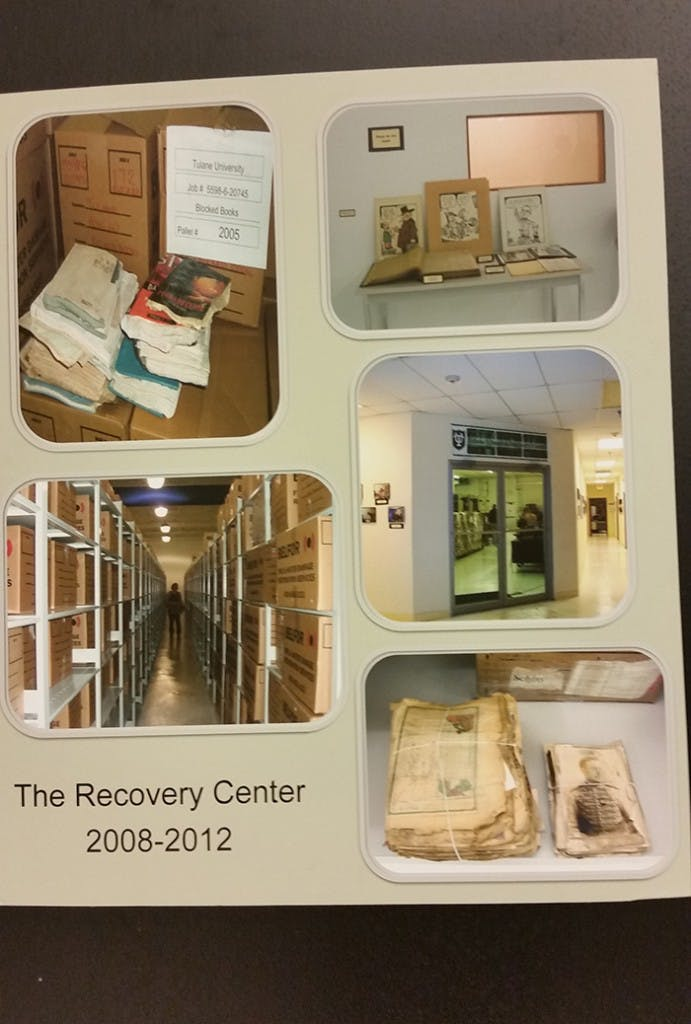 LAC Group managed Tulane Libraries Recovery Center