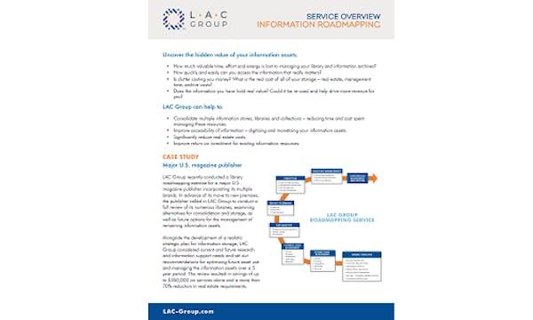 Information roadmapping
