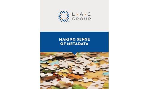Making sense of metadata