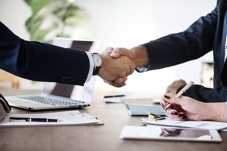 sales business handshake