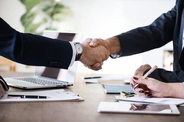 sales business handshake