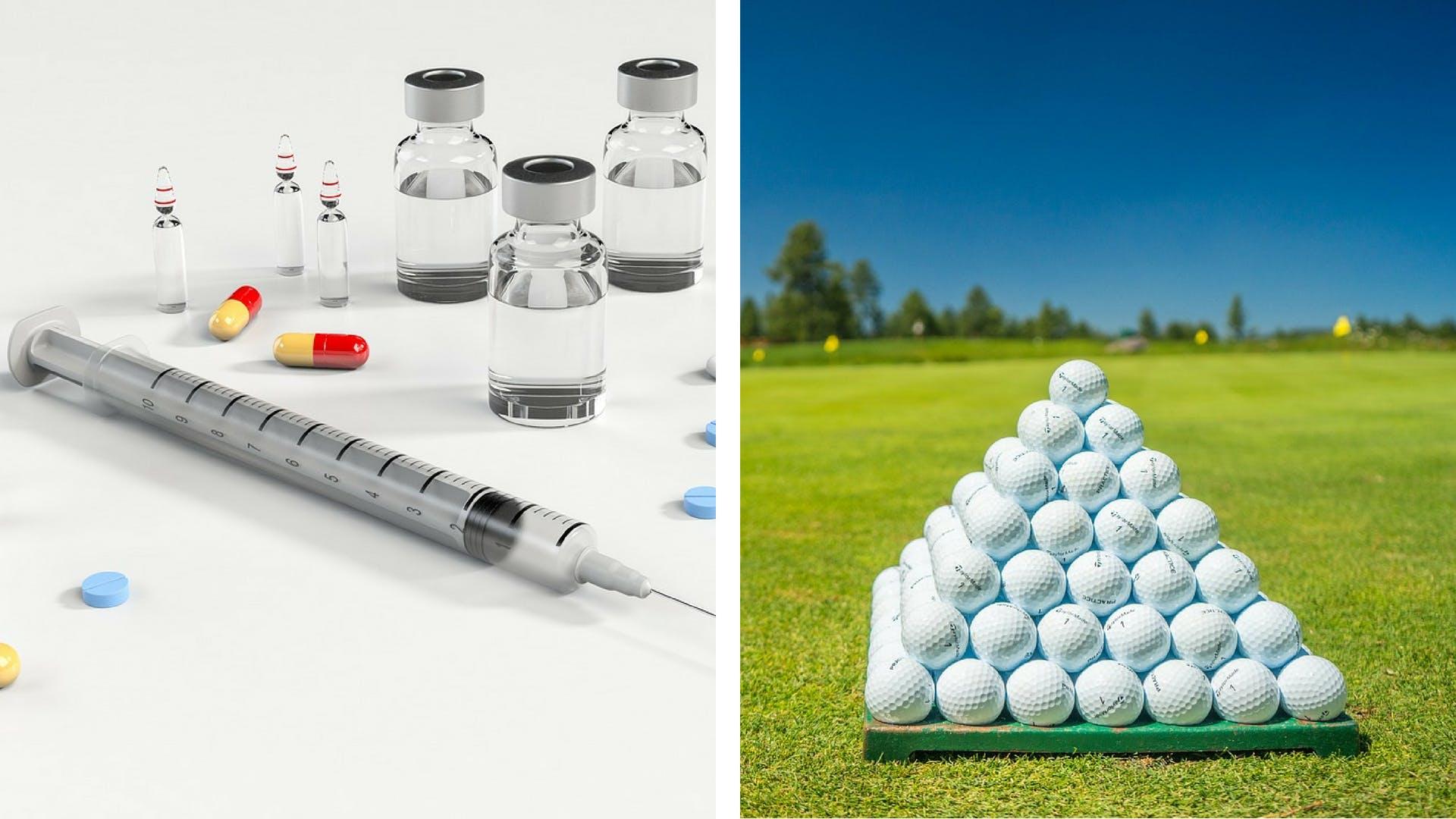 Medicinal products vs. Golf balls
