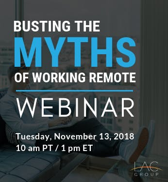 Busting the myths of working remote webinar