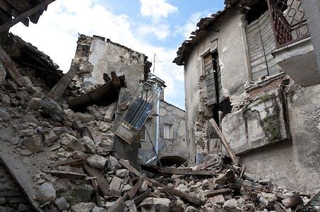 Earthquake aftermath