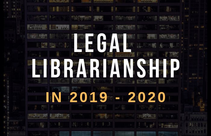 Legal librarianship 2019