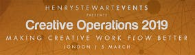 Creative Operations 2019