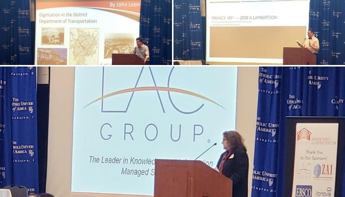 Catholic University LIS Symposium LAC Group presentations