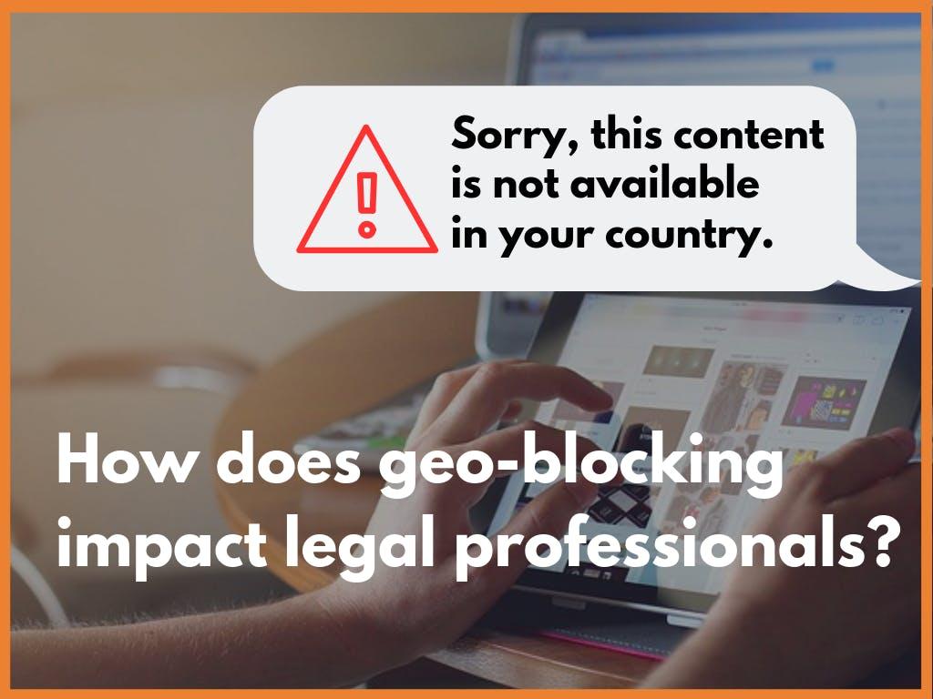 Geoblocking impact
