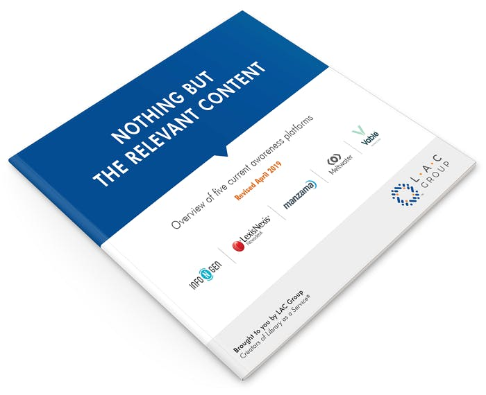Nothing but the relevant content 2019 report