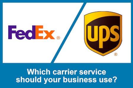 Fedex v UPS title