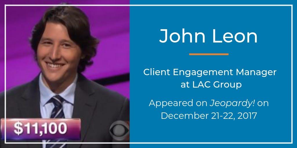 John Leon Jeopardy