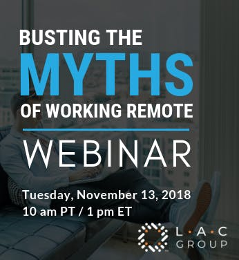 Busting the myths of working remote
