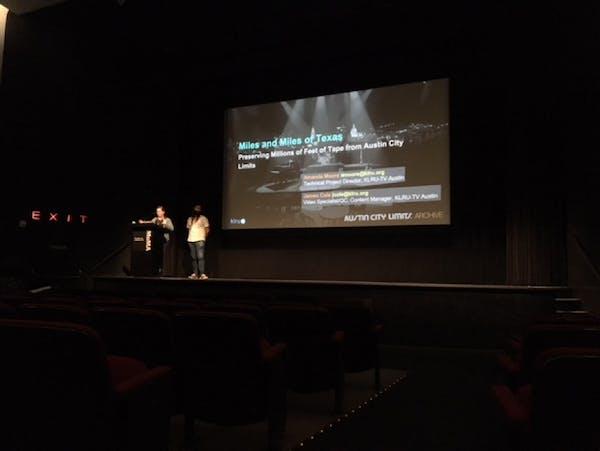 Amanda Moore and James Cole presenting at DAS AMIA 2019