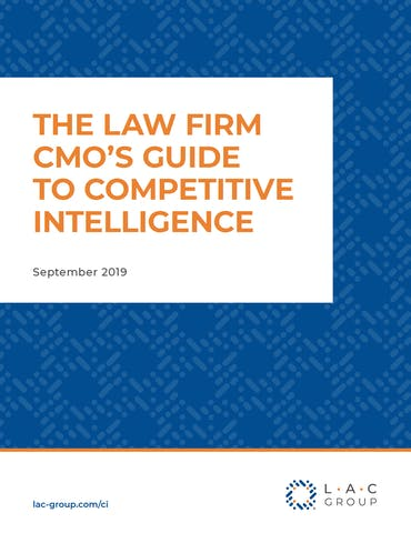 Law firm CMO flat cover
