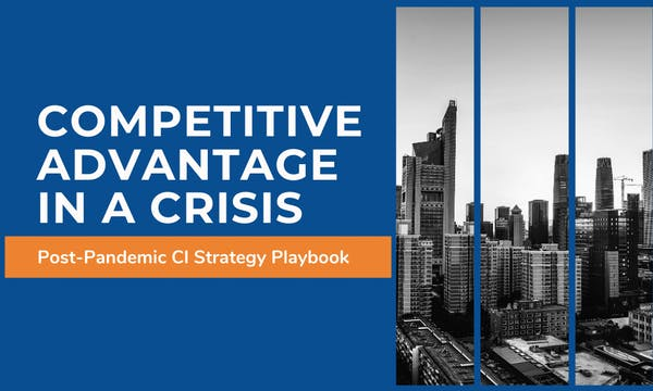 competitive advantage in a crisis playbook