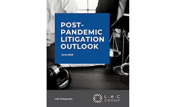 Post-Pandemic Litigation Outlook