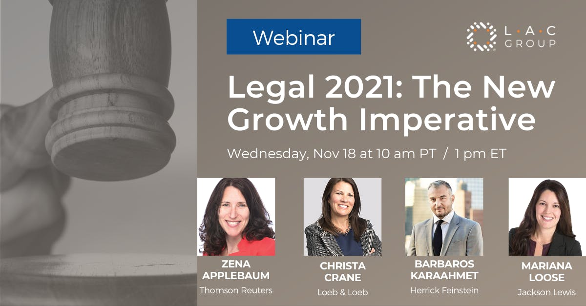 legal2021 growth imperative